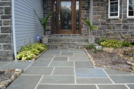 flagstone installation contractors